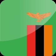 Drapeau Visa Zambie