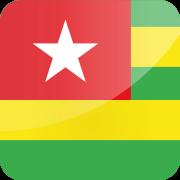 Drapeau Visa Togo