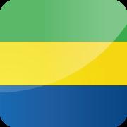 Drapeau Visa Gabon