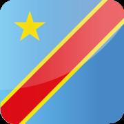 Drapeau Congo Kinshasa RDC